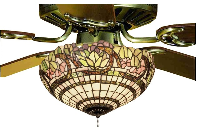 Meyda tiffany handel grapevine tiffany light kit x 60721 victorian ceiling fan accessories - Victorian ceiling fans with lights ...