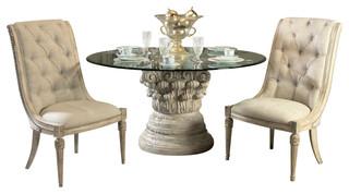 american drew jessica mcclintock boutique 4 piece dining