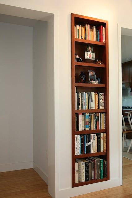 recessed bookshelf 2