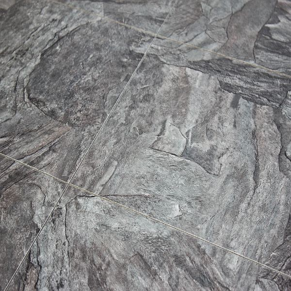 Stone Laminate Flooring : Alloc commercial stone grey slate mm tile laminate