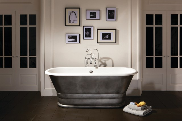 Geminus Plinth Roll Top Bath The Albion Bath Company Traditional Baths