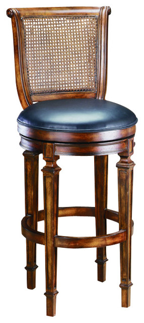 hillsdale dalton cane back 24 inch counter height stool