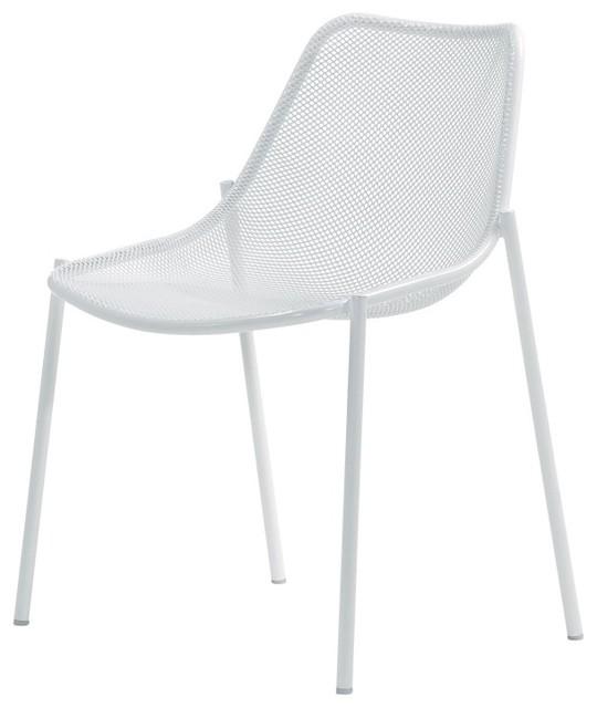 Round gartenstuhl moderno sillas de comedor para - Sillas para exteriores ...