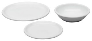 Rondo 18 piece dinnerware set scandinave vaisselle de for Set de vaisselle ikea