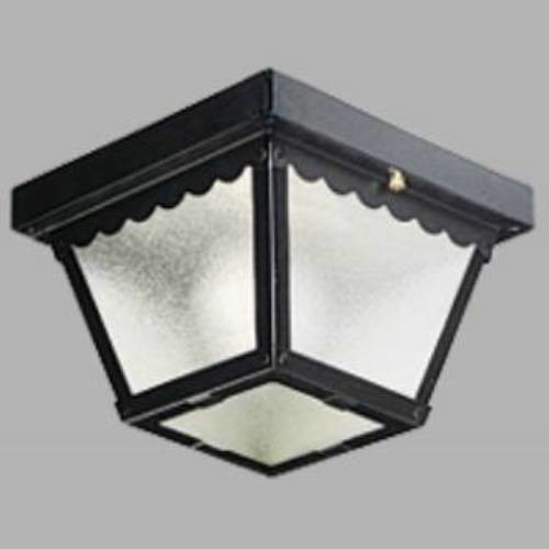 Close To Ceiling Modern Lights : Progress lighting p close to ceiling black one