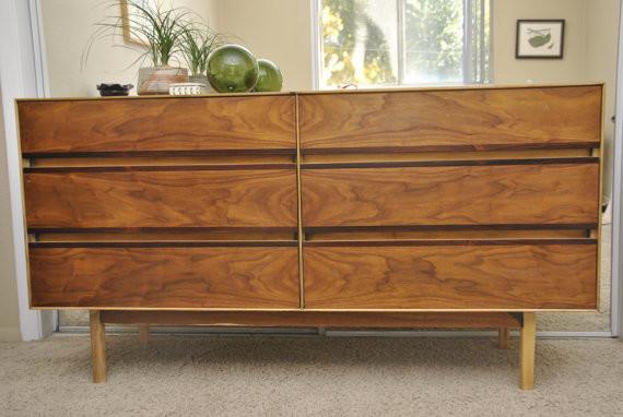 Mid Century Modern Stanley Furniture Dresser - Modern - Furniture - other metro - by Trevi ...