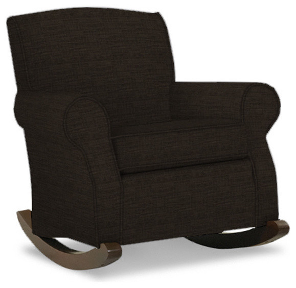 Madison upholstered rocking chair contemporary