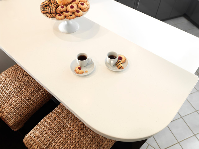 601 bleached concrete formica solid surfacing moderno for Formica bleached concrete