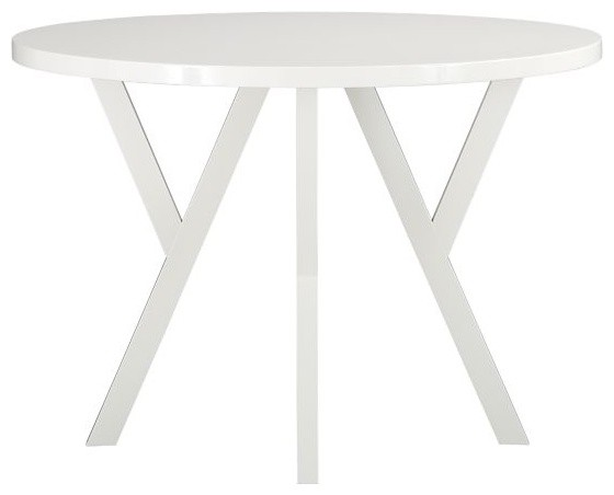 Ypsilon 42 round dining table modern dining tables for Table ypsilon