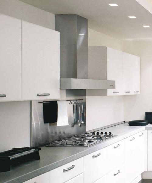 "Modern Kitchen Vent Hood: ""Lineare"" Series"