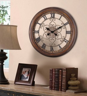 audrey round wall clock contemporary wall clocks by