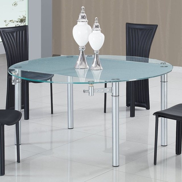 Glass Extension Dining Table Sydney