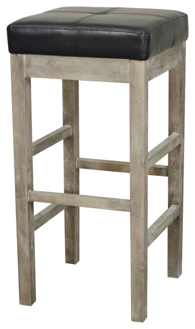 Valencia Backless Barstool With Mystique Gray Legs Payne