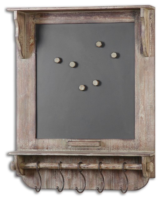 Uttermost Wooden Wall Mount Chalkboard Farmhouse Bulletin Boards And Chal