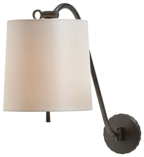 Barbara Barry Understudy 1 Light Decorative Wall Light - Traditional - orange county - by Lightopia