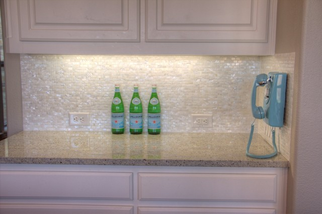White Mother Of Pearl Minibrick Tile For Backsplash And
