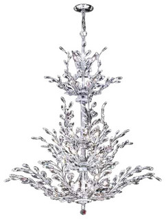 94459g00 James R Moder Florale Chandelier Contemporary Chandeliers on family room lighting fixtures