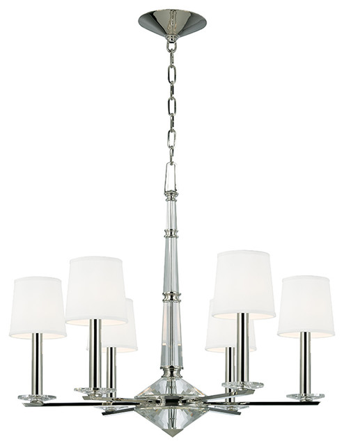 Hudson Valley Lighting  Six Light Chandelier Transitional Chandeliers By Lighting