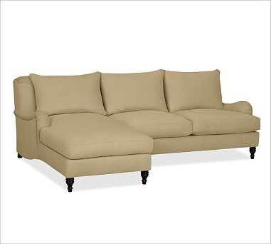 with chaise classic canvas raffia traditional sectional sofas