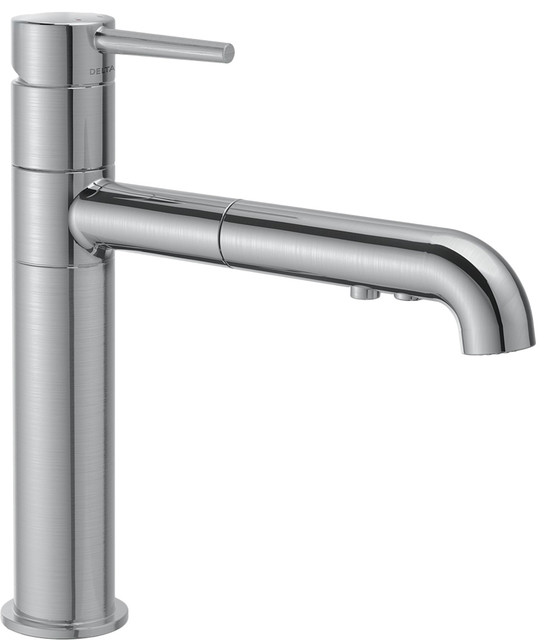 handle kitchen faucet modern kitchen faucets by plumbersstock