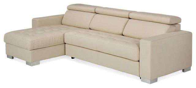 mauro canap d 39 angle r versible beige modern eck. Black Bedroom Furniture Sets. Home Design Ideas