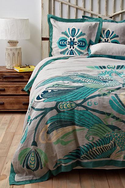 Cockatoo Duvet Cover Contemporary Duvet Covers And