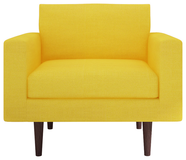 Brady Chair Belfast Gold Contemporary Armchairs and
