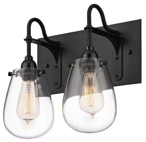 bathroom light satin black industrial bathroom vanity lighting