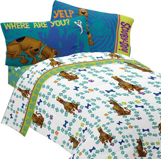 scooby doo twin bed sheet set smiling scooby bedding contemporary