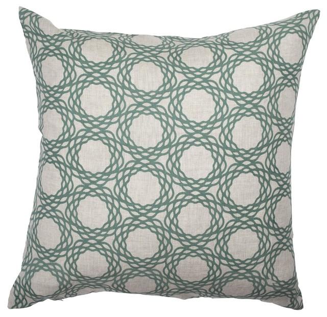 COCOCOZY Oxford Pillow Cover in Sea Green - Decorative ...