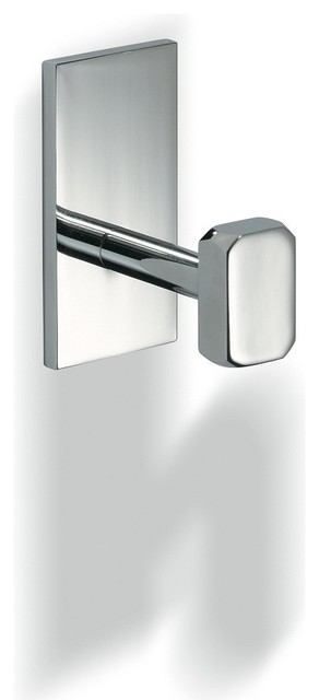 Glue L 313 Robe Hook without Screws in Chrome - Contemporary - Robe & Towel Hooks - by Modo Bath