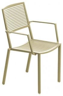easy armlehnstuhl bauhaus look outdoor gartenm bel von. Black Bedroom Furniture Sets. Home Design Ideas