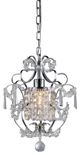 Jess Crystal Chandelier Transitional Chandeliers
