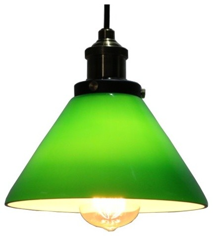 green glass pendant lights for kitchen lighting On green kitchen pendant lights