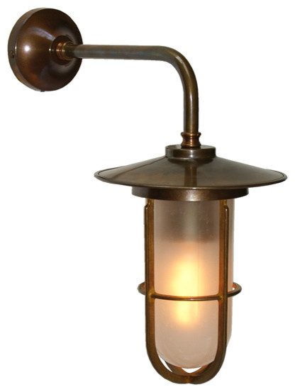 Lena Well Glass Wall Light - Industrial - Swing Arm & Reading Lights - other metro - by Mullan ...