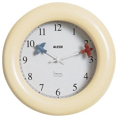 michael kitchen clock by alessi modern clocks