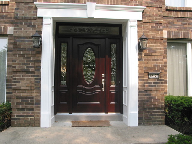 Entrance doors front doors cincinnati by building for Cincinnati window design