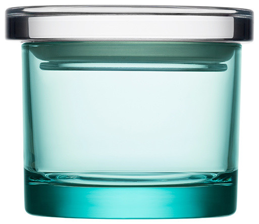 Iittala - Small Glass Storage Jar - Modern - Food Containers And Storage - by HORNE