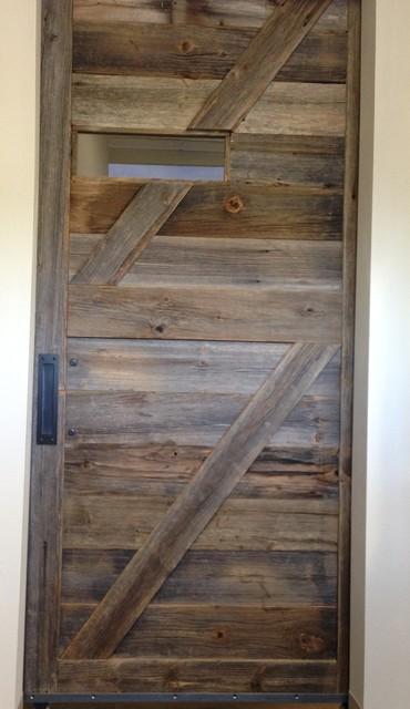 Reclaimed Wood Sliding Doors