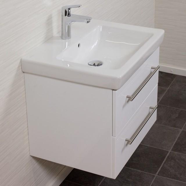 Waschtisch waschbecken weiss for Waschtisch modern