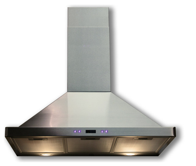Cavaliere Stainless Steel Wall Mounted Kitchen Range Hood