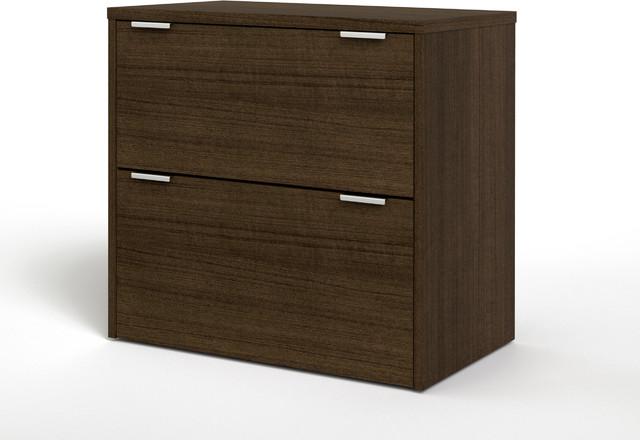 Bestar Contempo Tuxedo Lateral Lateral File Cabinet ...