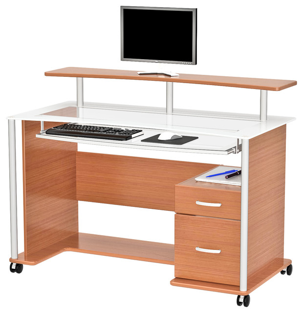Maven Workstation Contemporary Desks And Hutches By