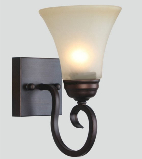 Wall Sconces Nyc: Antique Copper And Marble Shade Wall Sconce