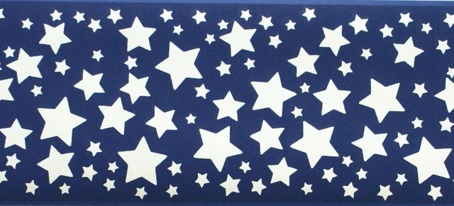 blue star border - photo #32