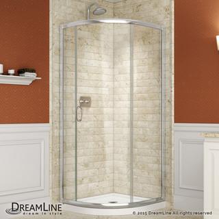 DreamLine Solo Sliding Shower Enclosure & SlimLine 36x36 ...