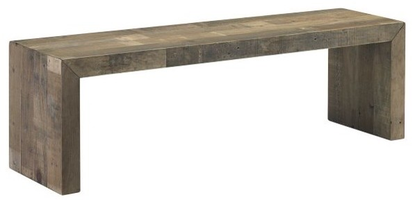 Emmerson Dining Bench Contemporary Dining Benches By