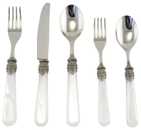 Napoleon 5 Piece Place Setting Modern Flatware And Silverware Sets By Arvindgroup