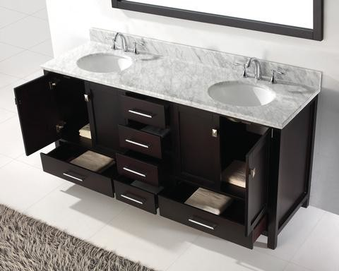 Double Bathroom Vanities Contemporary Bathroom Vanities And Sink Consoles
