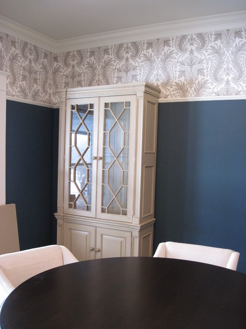 Wallcovering Projects Traditional Dining Room Detroit By State Street